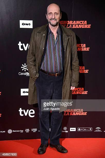 Jose Miguel Fernandez Sastron attends 'La Ignorancia de la Sangre' Madrid Premiere at the Capitol Cinema on November 13 2014 in Madrid Spain