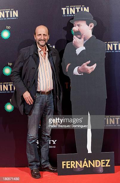 Jose Miguel Fernandez Sastron attends 'Las Aventuras de TinTin El Secreto del Unicornio' Premiere at Callao Cinema on October 26 2011 in Madrid Spain