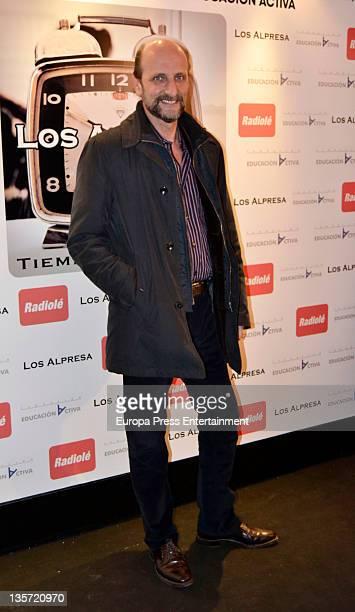 Jose Miguel Fernandez Sastron attends 'Los Alpresa' concert at Sala Pacha on December 12 2011 in Madrid Spain