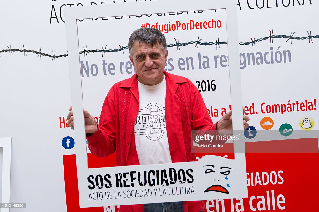'SOS Refugiados' Event in Madrid