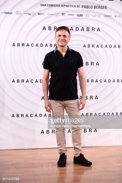Jose Mota attends 'Abracadabra' Madrid photocall on July 17 2017 in Madrid Spain
