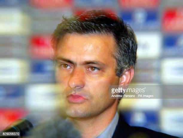 Jose Mourinho at Chelsea's Stamford Bridge ground where he was officially unveiled as the west London club's new manager He was released Tuesday by...