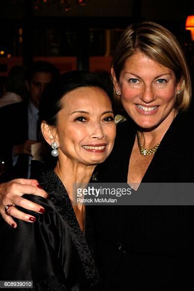 Jose Natori and Sue Kronick attend 30th Anniversary of NATORI Honoring JOSIE NATORI at La Grenouille on November 1 2007 in New York