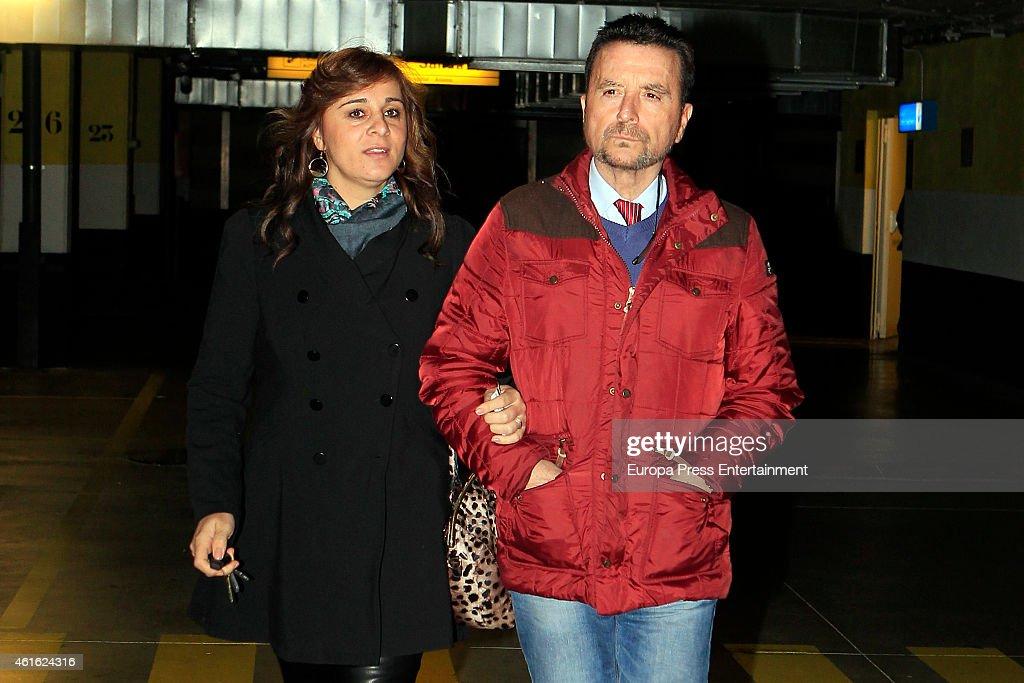 Jose Ortega Cano Sighting In Madrid - January 08, 2015