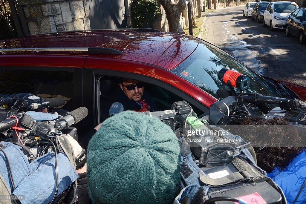 Celebrities Sighting In Madrid - January 09, 2015