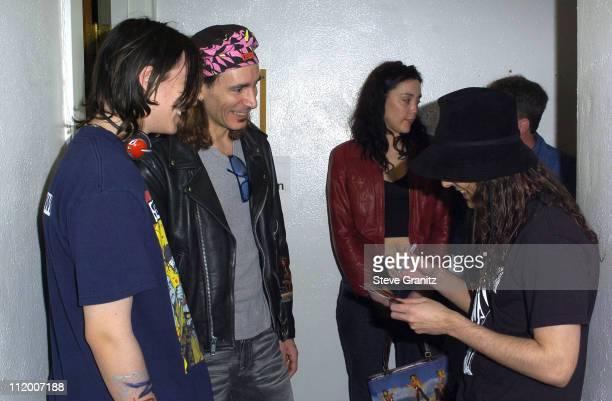 Jose Perez Julian Vai Steve Vai and Daron Malakian of System of a Down