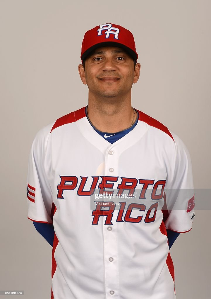 Jose Rosado #50 of Team Puerto Rico poses for a headshot for the 2013 World Baseball Classic at the City of Palms Baseball Complex on Monday, March 4, 2013 in Fort Myers, Florida.