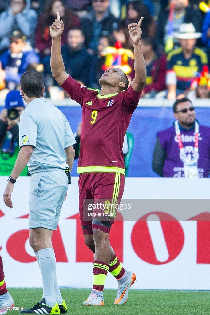 Colombia v Venezuela: Group C - 2015 Copa America Chile
