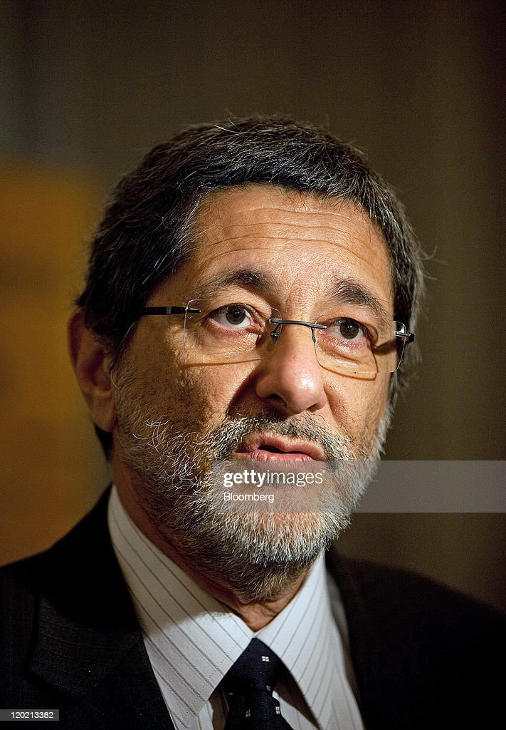Jose Sergio Gabrielli chief executive officer of Petroleo Brasileiro SA speaks during a news conference in London UK on Monday Aug1 2011 Petroleo...