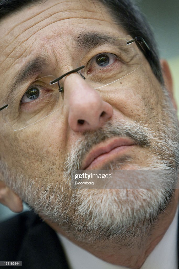 Jose Sergio Gabrielli chief executive officer of Petroleo Brasileiro SA pauses during an interview in New York US on Thursday Nov 17 2011 Petroleo...