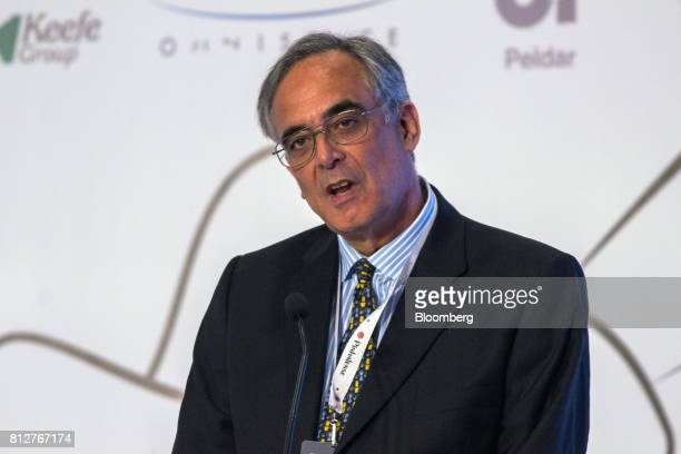 Jose Sette executive director of the International Coffee Organization speaks during the World Coffee Producers Forum in Medellin Colombia on Tuesday...