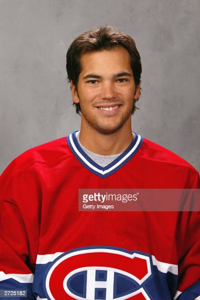 Jose Theodore of the Montreal Canadiens poses for a portrait on September 15 2003 at the Bell Centre in Montreal Quebec Canada