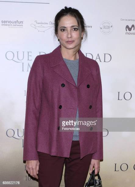 Jose Toledo attends the 'Lo Que De Verdad Importa' premiere at the Hotel Vincci Capitol on February 15 2017 in Madrid Spain