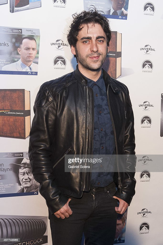 Jose Troncoso attends Paramount Cinema Party at Tiffany's on December 18, 2013 in Madrid, Spain.