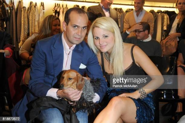 Jose Turullols and Alexandra Vidal attend BERGDORF GOODMAN Fashion Night Out at Bergdorf Goodman on September 10 2010 in New York City