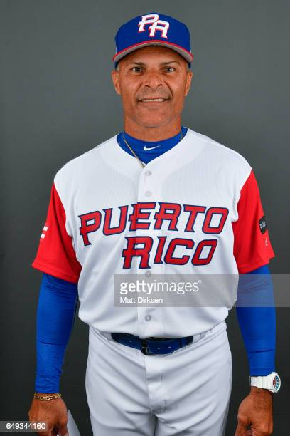 Jose Valentin of Team Puerto Rico poses for a headshot for Pool D of the 2017 World Baseball Classic on Tuesday March 7 2017 at Salt River Fields at...