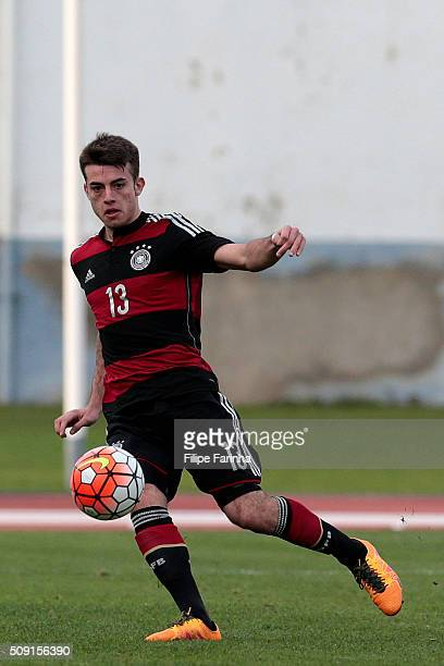 JoseEnrique Rios Alonso of Germany during the UEFA Under16 match between U16 France v U16 Germany on February 6 2016 in Vila Real de Santo Antonio...