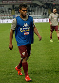 Josef Martinez before the Tim Cup match between Torino FC and AC Cesena at the Olympic Stadium of Turin on decenber 01 2015 in Turin Italy