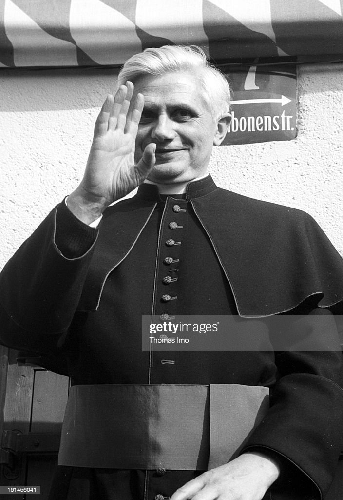 Josef Ratzinger Ordination as Bishop on May 28, 1997 in Munich, Germany.