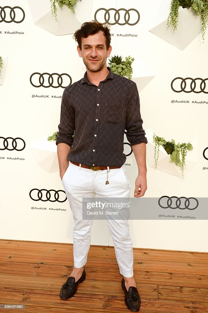 Josef Salvat attends day two of the Audi Polo Challenge at Coworth Park on May 29, 2016 in London, England.