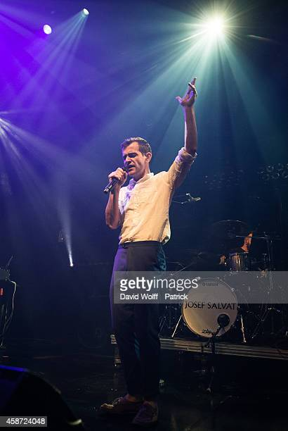 Josef Salvat performs during Howl Festival at La Gaite Lyrique on November 9 2014 in Paris France