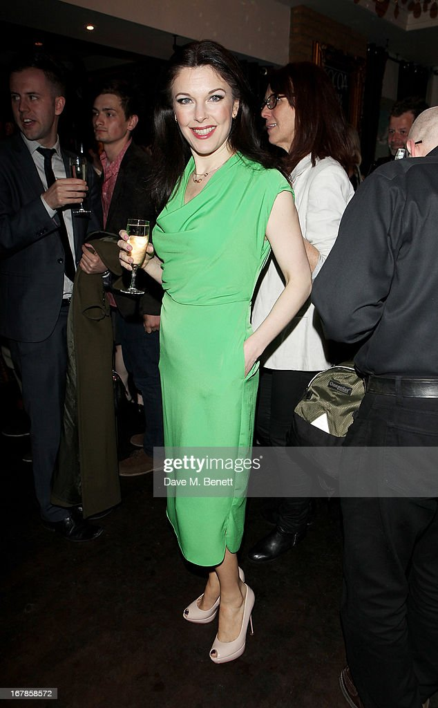 Josefina Gabrielle attends an after party celebrating the press night performance of the Menier Chocolate Factory's 'Merrily We Roll Along', following its transfer to the Harold Pinter Theatre, at Grace Restaurant on May 1, 2013 in London, England.