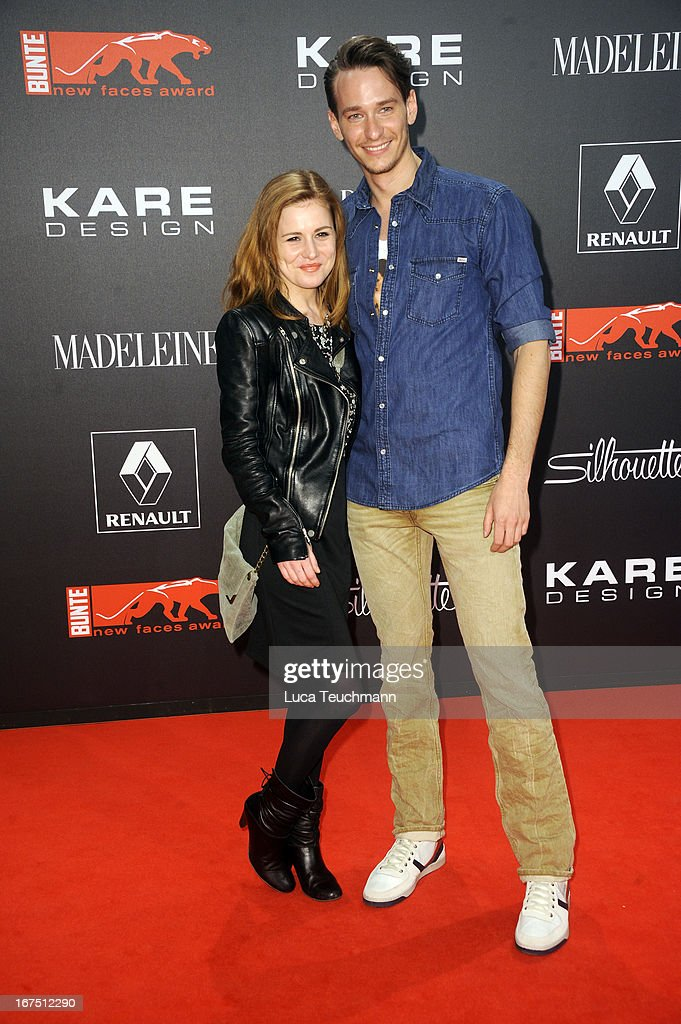<a gi-track='captionPersonalityLinkClicked' href=/galleries/search?phrase=Josefine+Preuss&family=editorial&specificpeople=3597220 ng-click='$event.stopPropagation()'>Josefine Preuss</a> and Vladimir Burlakov attend the new faces award Film 2013 at Tempodrom on April 25, 2013 in Berlin, Germany.
