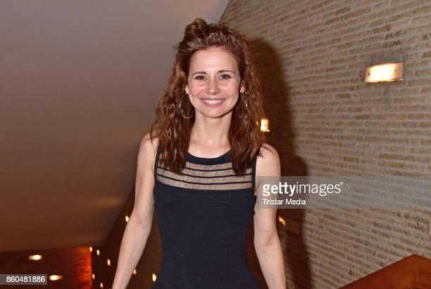 Josefine Preuss attend the 'Vorwaerts immer' premiere at Kino International on October 11 2017 in Berlin Germany
