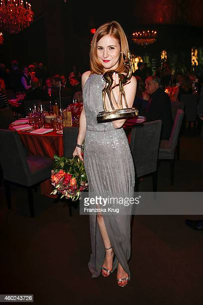 Josefine Preuss attends the Bambi Awards 2014 after show party on November 14 2014 in Berlin Germany