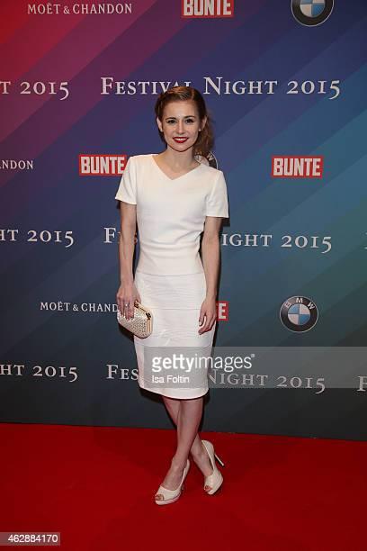 Josefine Preuss attends the Bunte BMW Festival Night 2015 on February 06 2015 in Berlin Germany
