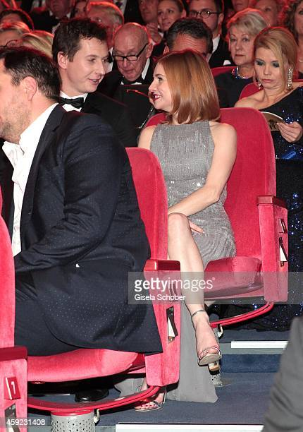 Josefine Preuss during the Bambi Awards 2014 on November 13 2014 in Berlin Germany