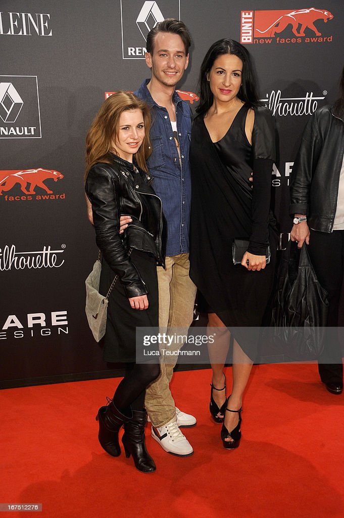 <a gi-track='captionPersonalityLinkClicked' href=/galleries/search?phrase=Josefine+Preuss&family=editorial&specificpeople=3597220 ng-click='$event.stopPropagation()'>Josefine Preuss</a>, Vladimir Burlakov and Minu Barati-Fischer attend the new faces award Film 2013 at Tempodrom on April 25, 2013 in Berlin, Germany.