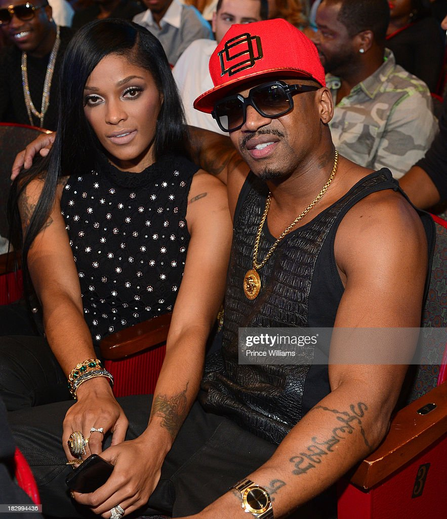 <a gi-track='captionPersonalityLinkClicked' href=/galleries/search?phrase=Joseline+Hernandez&family=editorial&specificpeople=9476744 ng-click='$event.stopPropagation()'>Joseline Hernandez</a> and <a gi-track='captionPersonalityLinkClicked' href=/galleries/search?phrase=Stevie+J&family=editorial&specificpeople=7197231 ng-click='$event.stopPropagation()'>Stevie J</a> attend the the BET Hip Hop Awards 2013 at the Boisfeuillet Jones Atlanta Civic Center on September 28, 2013 in Atlanta, Georgia.