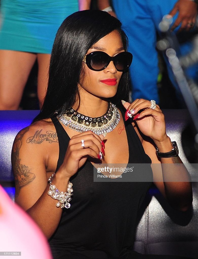 <a gi-track='captionPersonalityLinkClicked' href=/galleries/search?phrase=Joseline+Hernandez&family=editorial&specificpeople=9476744 ng-click='$event.stopPropagation()'>Joseline Hernandez</a> attends party hosted by Fabolous and Cassie at Prive on June 21, 2013 in Atlanta, Georgia.