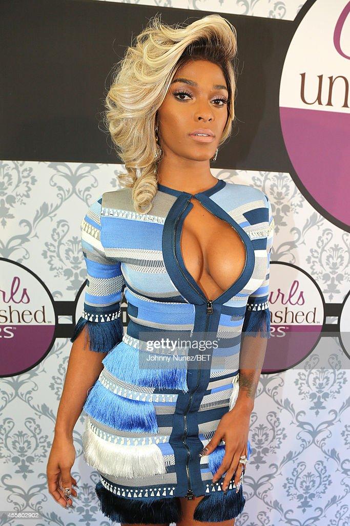 Joseline Hernandez attends the BET Hip Hop Awards 2014 presented by Sprite at Boisfeuillet Jones Atlanta Civic Center on September 20 2014 in Atlanta...