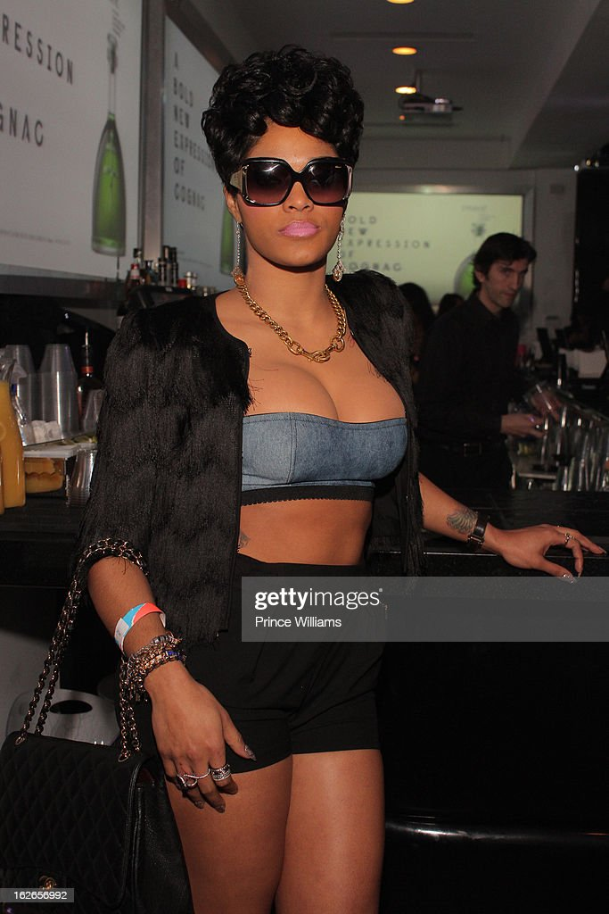 Joseline Hernandez attends the So So Def anniversary party hosted by Jay Z at Compound on February 23, 2013 in Atlanta, Georgia.