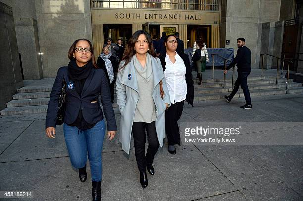 Joselyn Martinez leaves Manhattan Supreme Court Joselyn's father Jose Martinez was allegedly killed by Justo Santos in 1986 Joselyn who was only 9 at...