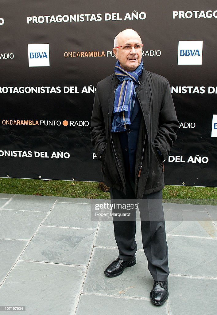 Josep Antoni Duran Lleida attends the 'Protagonistas Award 2010' at the Palau de Congressos de Catalunya on November 29, 2010 in Barcelona, Spain.