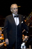 Josep Carreras perfoms during the Starlite Festival on July 31 2014 in Marbella Spain