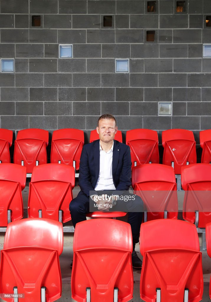 Josep Gombau poses after being announced as the new Wanderers head coach during a Western Sydney Wanderers Media Opportunity at Blacktown International Sportspark on November 1, 2017 in Sydney, Australia.
