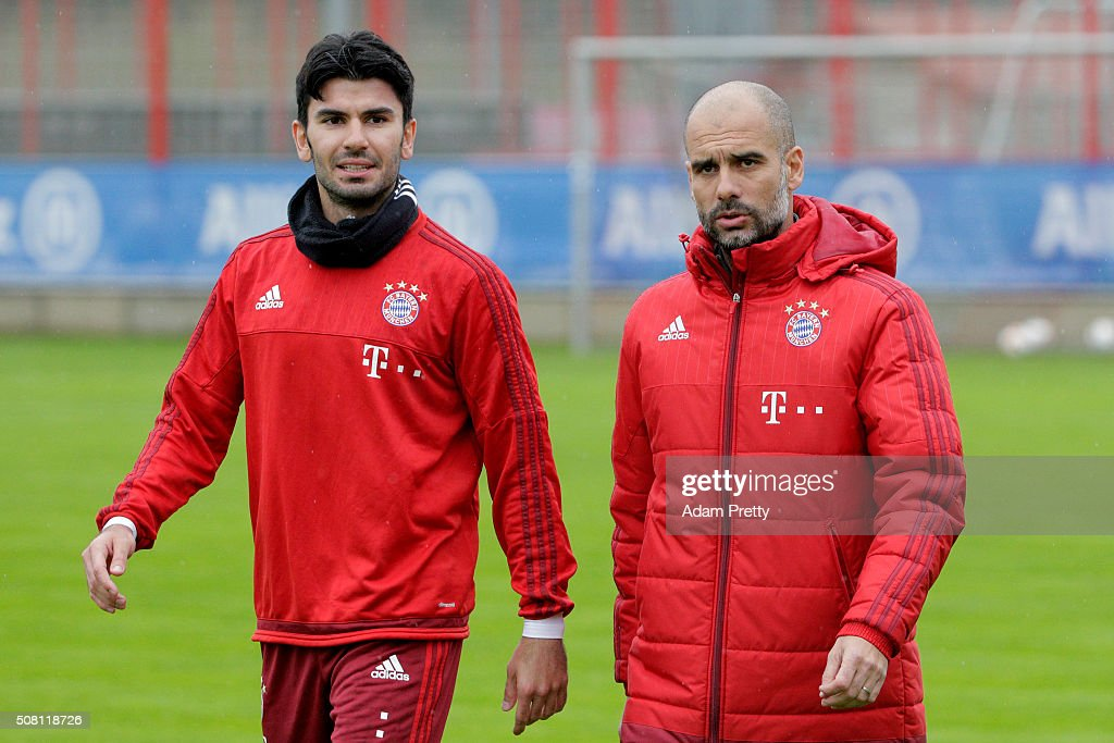 FC Bayern Training and Press Conference