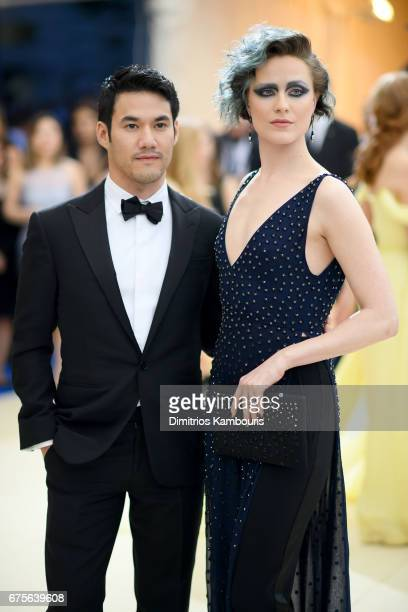 Joseph Altuzarra and Evan Rachel Wood attend the 'Rei Kawakubo/Comme des Garcons Art Of The InBetween' Costume Institute Gala at Metropolitan Museum...