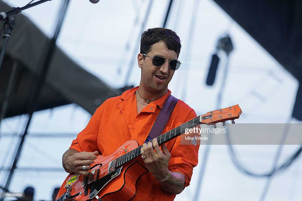 Joseph Arthur of RNDM performs on stage during day 3 of the BottleRock music Festival on May 11, 2013 in Napa, California.