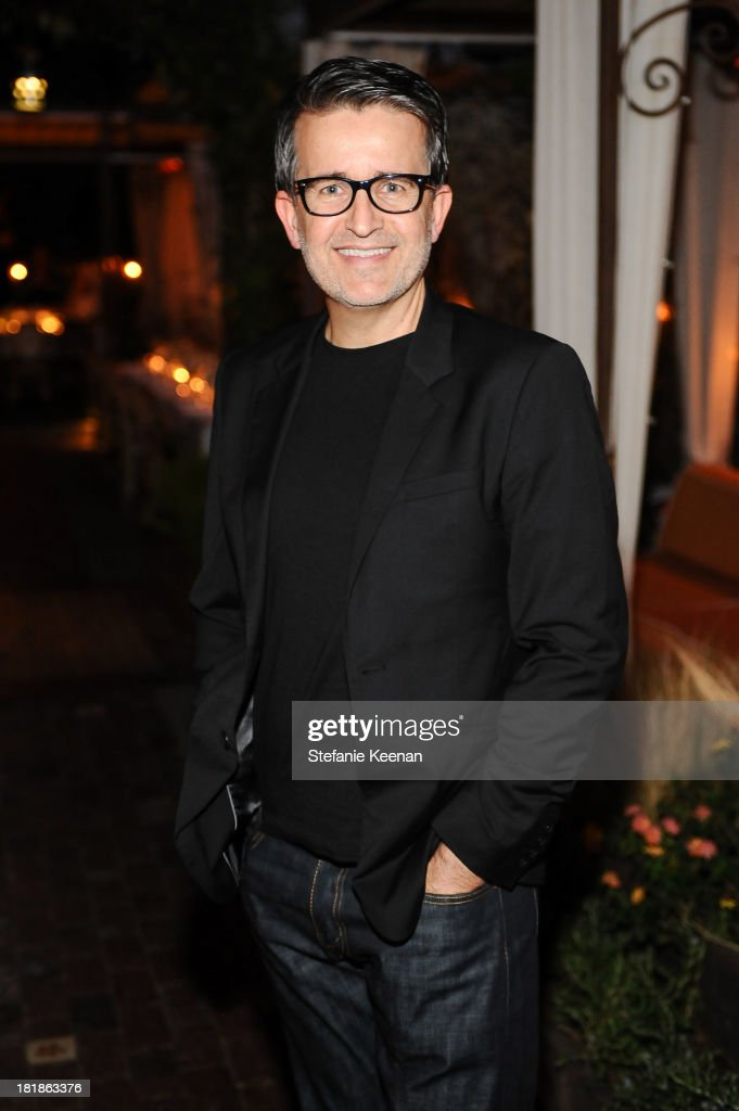 Joseph Cassell attends an intimate dinner event hosted by Elle magazine and J Brand at Petit Ermitage Hotel on September 25, 2013 in West Hollywood, California.