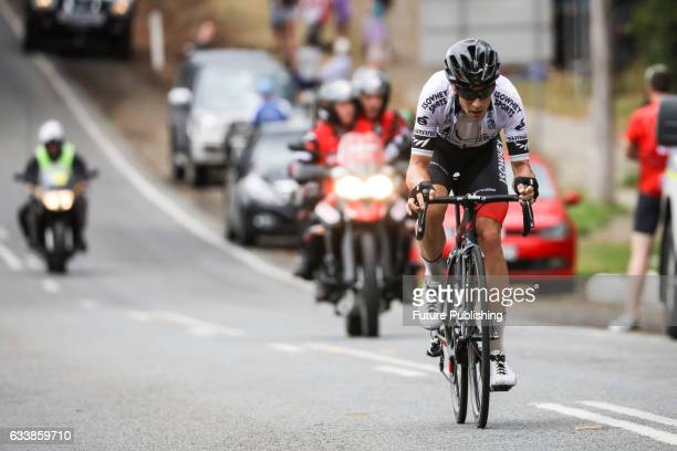 Joseph COOPER of ISOWHEY SPORTS SWISSWELLNESS competing in stage 4 at Kinglake as part of the 2017 Jayco Herald Sun Tour on February 05 2017 in...