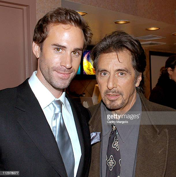 Joseph Fiennes and Al Pacino during Gotham Magazine Al Pacino and Sony Pictures Host the Premiere Party for 'The Merchant of Venice' Premiere...
