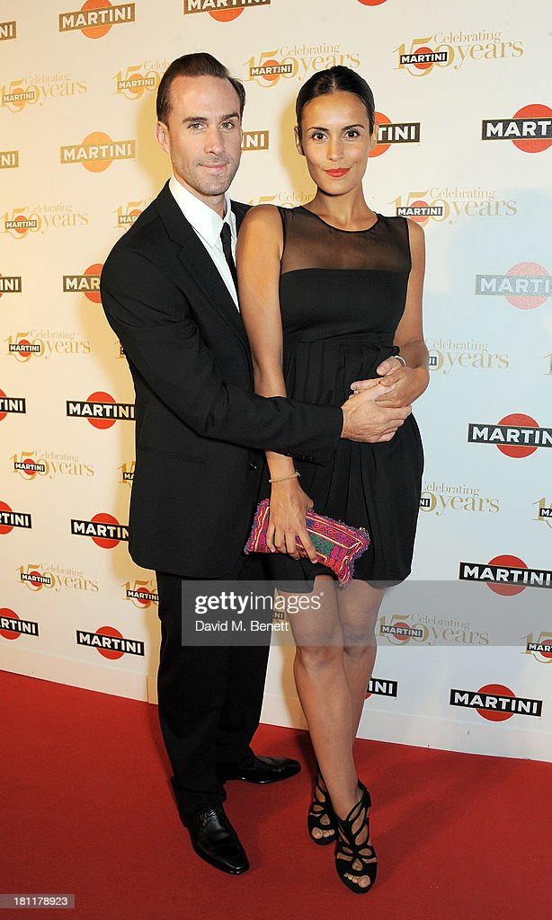 <a gi-track='captionPersonalityLinkClicked' href=/galleries/search?phrase=Joseph+Fiennes&family=editorial&specificpeople=211171 ng-click='$event.stopPropagation()'>Joseph Fiennes</a> (L) and Maria Dieguez attend the MARTINI 150 anniversary gala at Villa Erba, Lake Como on September 19, 2013 in Como, Italy.