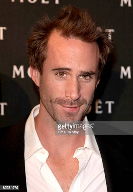 Joseph Fiennes arrives for the Moet and Chandon A Tribute to Cinema party at Big Sky Studios on March 24 2009 in London England