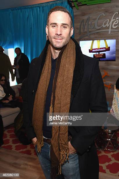 Joseph Fiennes attends McDonald's McCafe Presents The Village at The Lift 2015 on January 23 2015 in Park City Utah