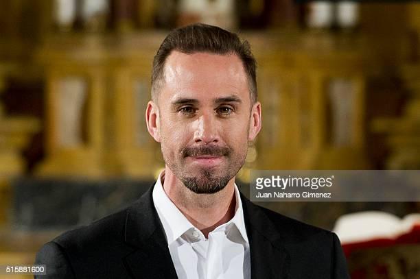 Joseph Fiennes attends 'Resucitado' photocall at Iglesia de San Antonio de los Alemanes on March 16 2016 in Madrid Spain